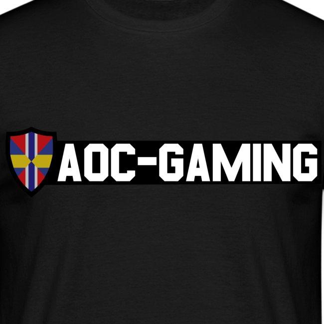 AOC-Gaming T-shirt HERR Svart
