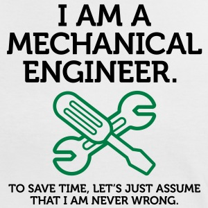 I Am A Mechanical Engineer 2 (2c)++ Camisetas - Camiseta contraste mujer
