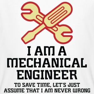 I Am A Mechanical Engineer 1 (dd)++ Tee shirts - T-shirt bio Homme
