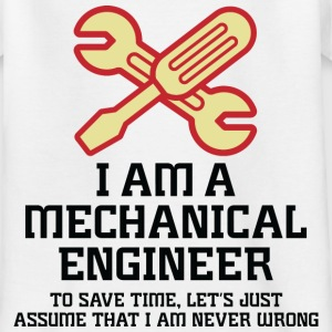 I Am A Mechanical Engineer 1 (dd)++ Camisetas niños - Camiseta adolescente