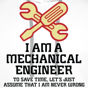 I Am A Mechanical Engineer 1 (dd)++ Sweatshirts - Herre Premium hættetrøje