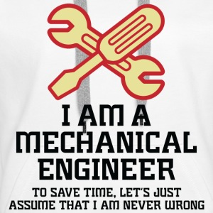 I Am A Mechanical Engineer 1 (dd)++ Gensere - Premium hettegenser for kvinner