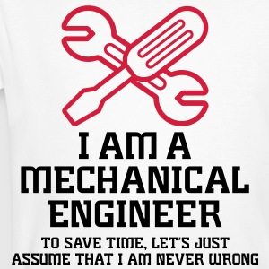 I Am A Mechanical Engineer 1 (2c)++ Camisetas - Camiseta ecológica hombre