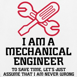 I Am A Mechanical Engineer 1 (2c)++ Väskor - Ekologisk tygväska