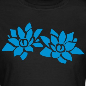 Flower Lotus T-shirts - T-shirt dam