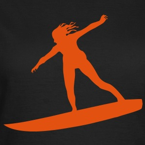 Surfing T-shirt - Frauen T-Shirt
