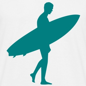 Surfing T-shirt - Mannen T-shirt