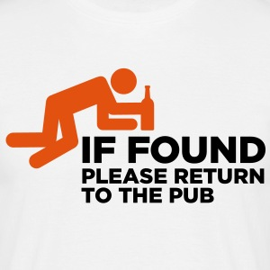 If Found Please Return 3 (2c)++ Camisetas - Camiseta hombre