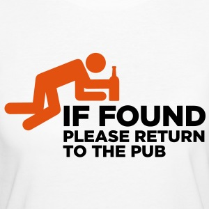If Found Please Return 3 (2c)++ T-Shirts - Women's Organic T-shirt