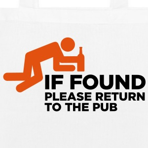 If Found Please Return 3 (2c)++ Bags  - EarthPositive Tote Bag