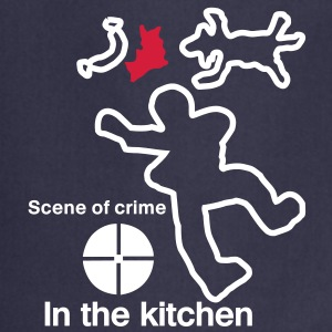 scene of crime  Aprons - Cooking Apron