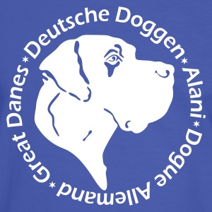 Great Dane Bullet T-Shirts - Men's Ringer Shirt