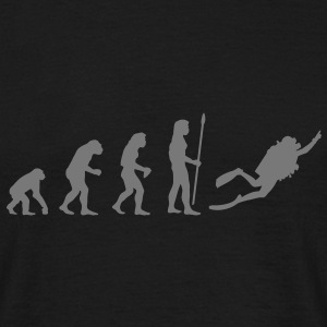 evolution_dive Tee shirts - T-shirt Homme