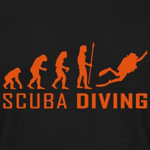 evolution_scuba_diving Tee shirts - T-shirt Homme