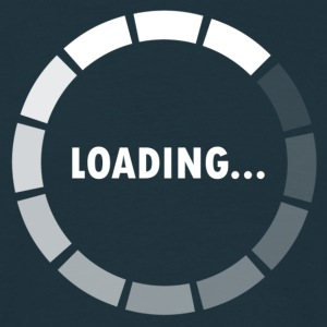 Ajax Loader - loading - waiting T-skjorter - T-skjorte for menn
