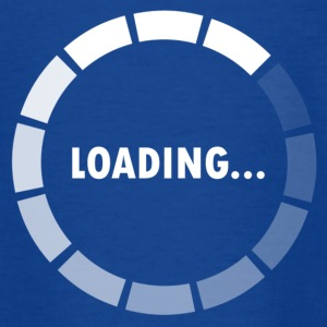 Ajax Loader - loading - waiting Barn-T-shirts - T-shirt tonåring