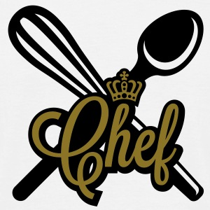 Chef | Chefkoch | Cook T-Shirts - Herre-T-shirt