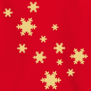 Snowflakes Kids' Classic T-shirt - Teenage T-shirt
