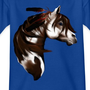 Feathered Paint Horse - Teenager T-Shirt