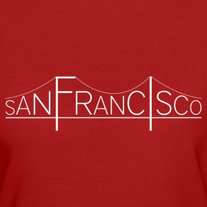 San Francisco Bridge - T-shirt Bio Femme