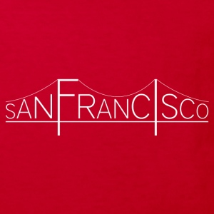 San Francisco Bridge - T-shirt Bio Enfant