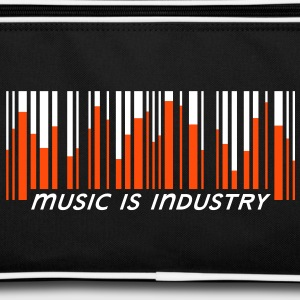 Music is industry Tassen - Retro-tas