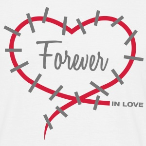 Forever in love T-Shirts - Männer T-Shirt