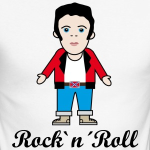Rock`n´Roll Tee shirts manches longues - T-shirt baseball manches longues Homme