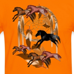 Dream Horses - Männer Kontrast-T-Shirt