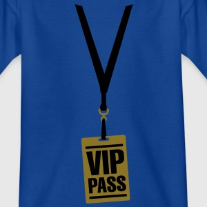 VIP pass Kids' Shirts - Teenage T-shirt