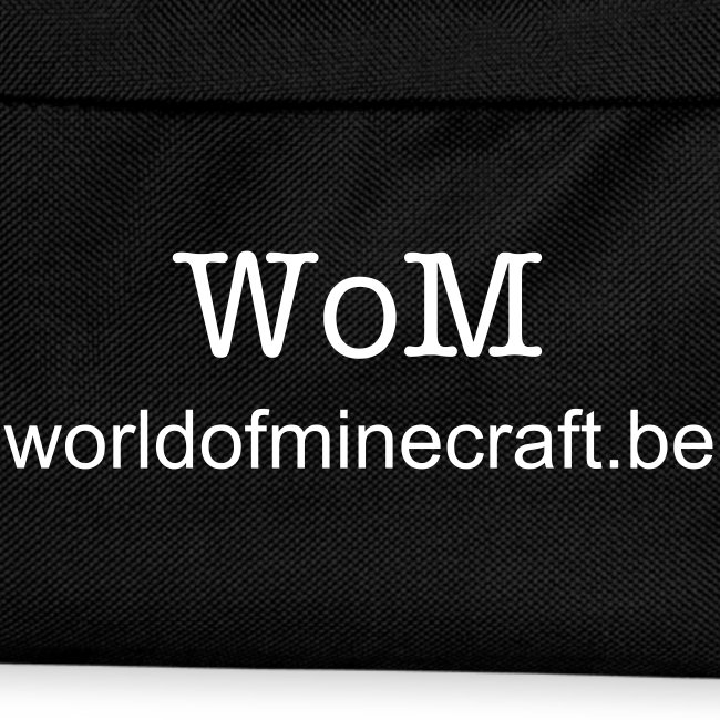 World of Minecraft Rugzak