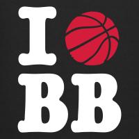 Zoom: Kids' Premium Hoodie with design I Love Basketball