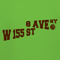 Zoom: Kids' Premium Hoodie with design Rucker Park Basketball NYC