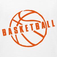 Zoom: Teenage T-shirt with design Basketball Slogan Ball