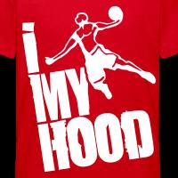 Zoom: Teenage T-shirt with design I Dunk My Hood