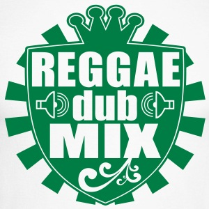 reggae dub mix Long sleeve shirts - Men's Long Sleeve Baseball T-Shirt