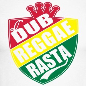 dub reggae rasta Long sleeve shirts - Men's Long Sleeve Baseball T-Shirt