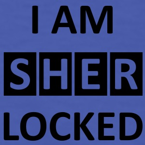 I AM SHERLOCKED  T-Shirts - Männer Kontrast-T-Shirt