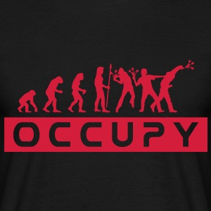 evolution_occupy T-Shirts - Männer T-Shirt