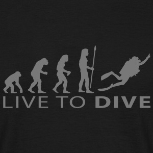 evolution_dive T-Shirts - Men's T-Shirt