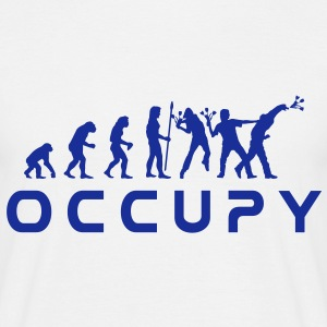 evolution_occupy Tee shirts - T-shirt Homme