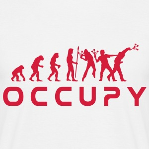 evolution_occupy T-skjorter - T-skjorte for menn