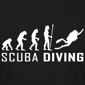 evolution_scuba_diving T-skjorter - T-skjorte for menn