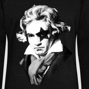 Beethoven rock Kiss Black Metal Sweat-shirts - Pull Femme col bateau de Bella