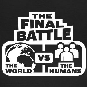world versus humans T-Shirts - Women's T-Shirt