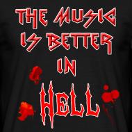 Design ~ Hell Music T-Shirt