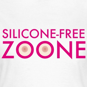 Silicone Free Zoone T-shirts - Vrouwen T-shirt