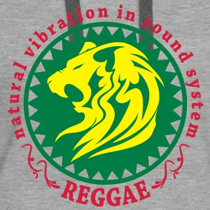 natural vibration in sound system reggae Sweat-shirts - Sweat-shirt à capuche Premium pour femmes