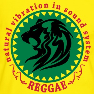 natural vibration in sound system reggae T-Shirts - Men's Ringer Shirt