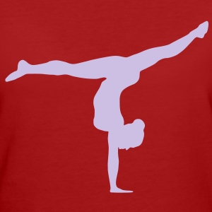Turnerin, Gymnastin T-Shirts - Frauen Bio-T-Shirt
